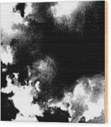 Sky Explosion Wood Print