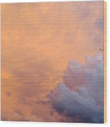 Sky Fire 003 Wood Print by Tony Grider