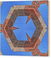 Sky Fortress Progression 10 Wood Print