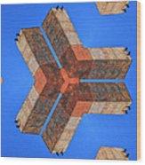 Sky Fortress Progression 4 Wood Print