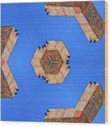 Sky Fortress Progression 6 Wood Print