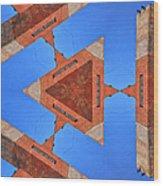 Sky Fortress Progression 9 Wood Print