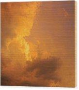 Sky High Intensity Wood Print
