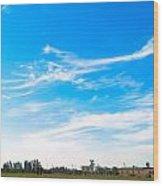 Sky High Wood Print