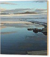 Sky Lake Wood Print