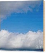 Sky Layers Wood Print