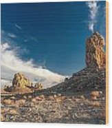 Sky Masters - Trona Pinnacles Wood Print
