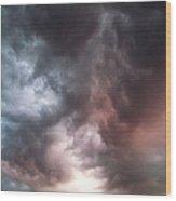 Sky Moods Wood Print