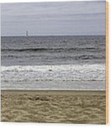 Sky Sea Surf And Sands Wood Print