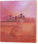Sky Over Riber Castle Wood Print