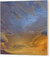 Sky Painting Photo 3621 Wood Print