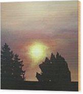 Sky-scape 4 Wood Print