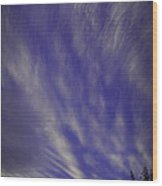 Sky Winds Wood Print