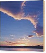Sky Wonders Wood Print
