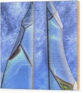Skycicle Wood Print