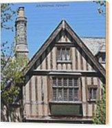 Skyland Manor House Wood Print