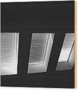 Skylight Abstract 12 Wood Print