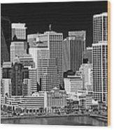Skyline San Francisco Wood Print