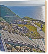 Skyline Trail In Cape Breton Highlands Np-ns Wood Print