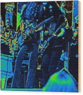 Skynyrd #5 Crop 2 In Cosmicolors Wood Print