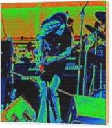 Skynyrd #6 Crop 2 In Cosmicolors Wood Print