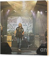 Skynyrd-group-7063 Wood Print
