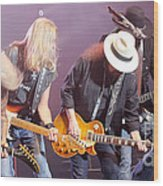 Skynyrd-group-7638 Wood Print