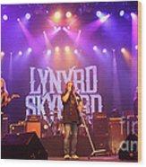 Skynyrd-group-7820 Wood Print