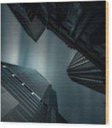 Skyscraper In Sydney Wood Print