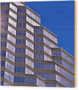 Skyscraper Photography - Downtown - By Sharon Cummings Wood Print
