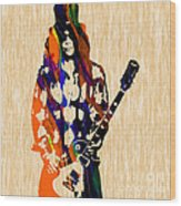 Slash Original Wood Print