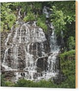 Slatebrook Falls Wood Print