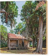 Slave Quarters 2 Wood Print