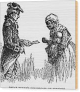 Slavery: Manumission, 1777 Wood Print by Granger