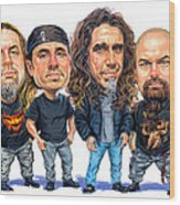 Slayer Wood Print by Art