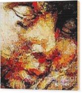 Sleep 0377 Marucii Wood Print