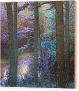 Sleep Walking Wood Print