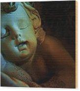 Sleeping Cherub #1 Wood Print