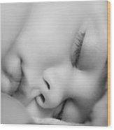 Sleeping Princess Wood Print by BandC  Photography
