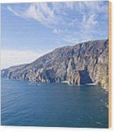 Sleive League On The West Coast Of Ireland Wood Print