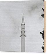 Slender Minaret Wood Print