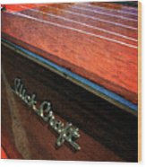 Slick Craft Powerboat Wood Print