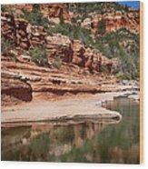 Slide Rock State Park Wood Print