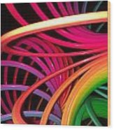 Slinky Craze Wood Print