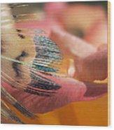 Slip Of The Tongue Wood Print