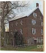 Sloan Park Grist Mill Wood Print