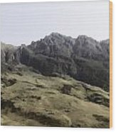Slope Of Hills In The Scottish Highlands Wood Print