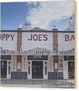 Sloppy Joe's Wood Print