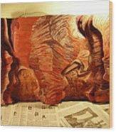 Slot Canyon 3d Wall Hanging Wood Print