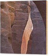 Slot In Palo Duro Canyon 110213.61 Wood Print